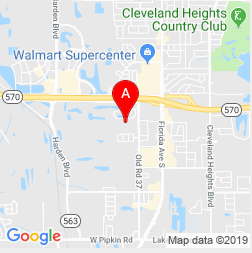 Map of Central Florida Designs location